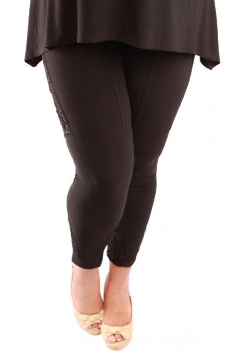 www.plus-q.dk-magna leggings med blonde-plus size