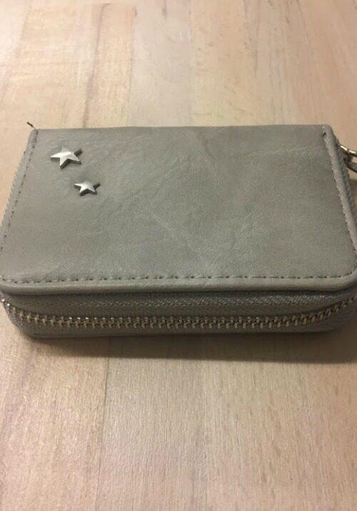 9c7adfc4be8 Lille pung til kreditkort og mønter -grå