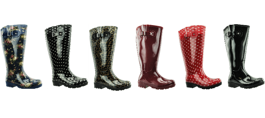 www.plus-q.dk- gummistøvler i seks fine farver og mønstre