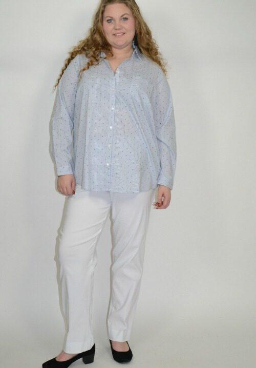 Hvide Susie bukser fra KJ Brand