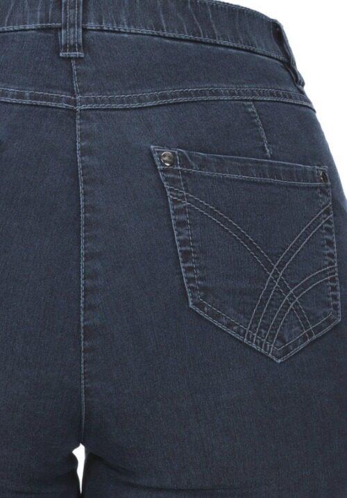 www.plus-q.dk jeans med superstretch fra kj brand blå