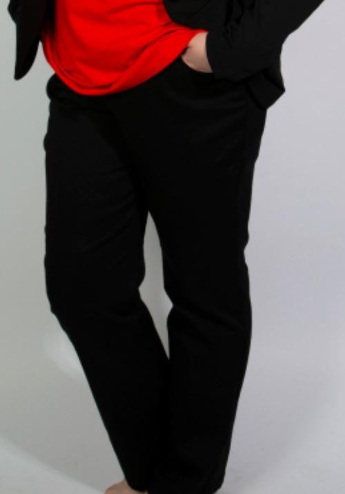 www.plus-q.dk jeans med superstretch fra kj brand sort