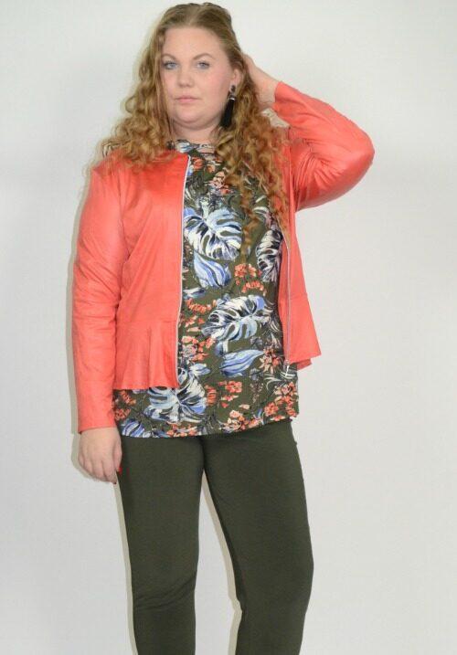 www.plus-q.dk leggings basis i khaki
