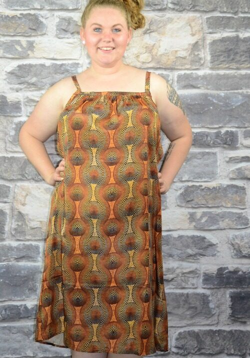 www.plus-Q.dk sommerkjole fra Unique Curves