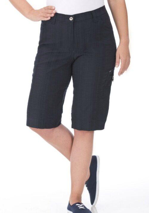 www.plus-q.dk bermuda shorts wash and go sorte fra KJ Brand