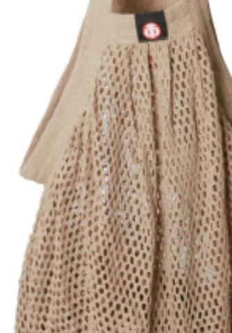 www.plus-Q.dk stringbag - mulepose - natur