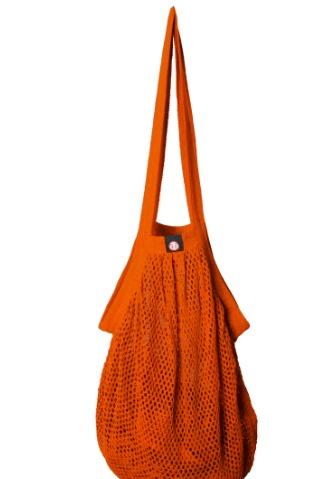www.plus-Q.dk stringbag - mulepose - rust