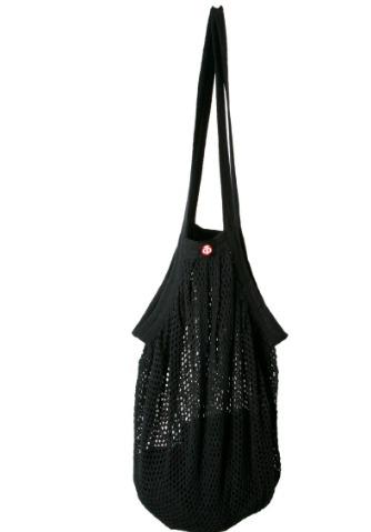 www.plus-Q.dk stringbag - mulepose - sort