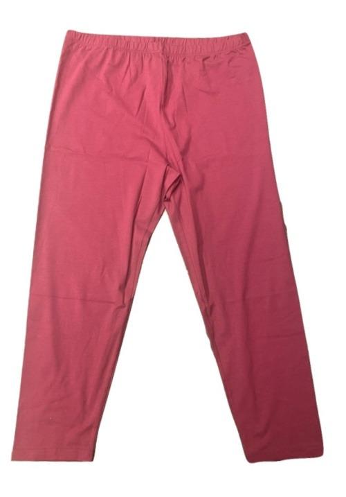 www.plus-Q.dk basis leggings i bomuld størrelse 44 til 66 brombær