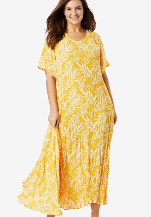 www.plus-Q.dk kjole i crep stof
