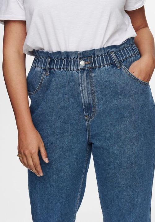 www.plus-Q.dk højtaljede ankel jeans-2